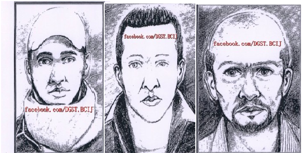مذكرة بحث عن الجزائريين الثلاثة شركاء الداعشي التشادي