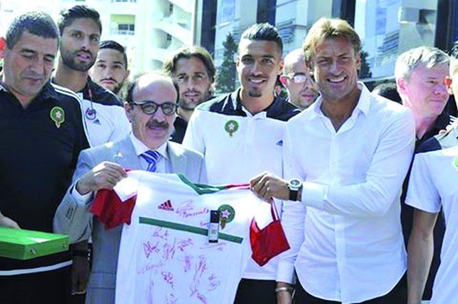 """رونار: """"المنتخب المغربي افتقد الفعالية الهجومية ضد الكونغو"""""""