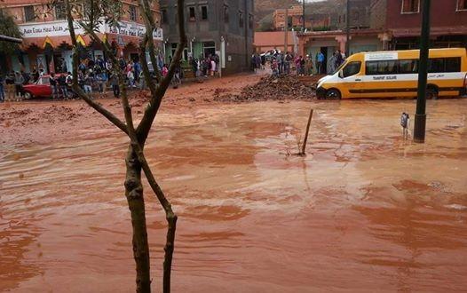 الأمطار العاصفية تخلف خسائر بشرية ومادية بإقليم تارودانت