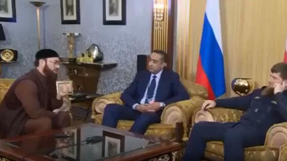 الحموشي يلتقي الرئيس الشيشاني في العاصمة كروزني