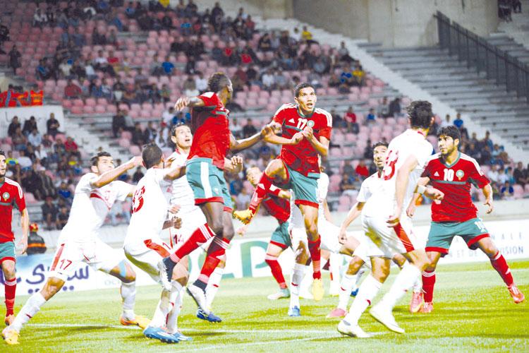 المنتخبان الأولمبي والمحلي يواجهان الكامرون وديا بمراكش