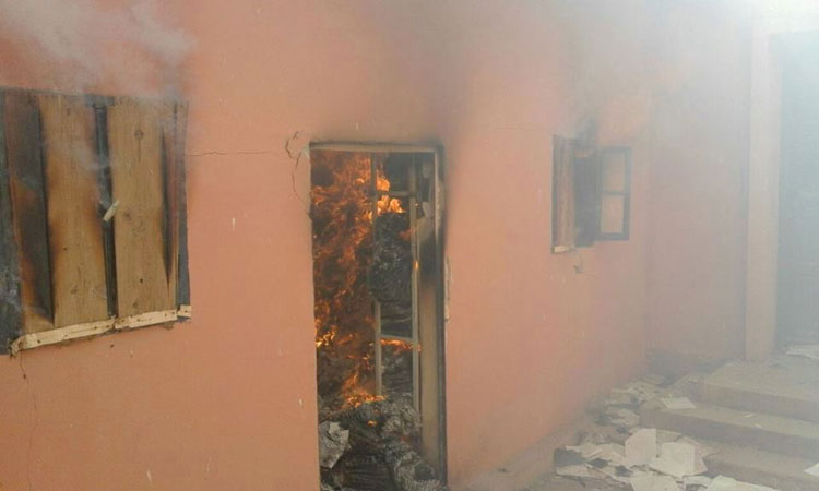 النيران تلتهم مكاتب وأرشيف محكمة جزولة بآسفي والدرك يفتح تحقيقا