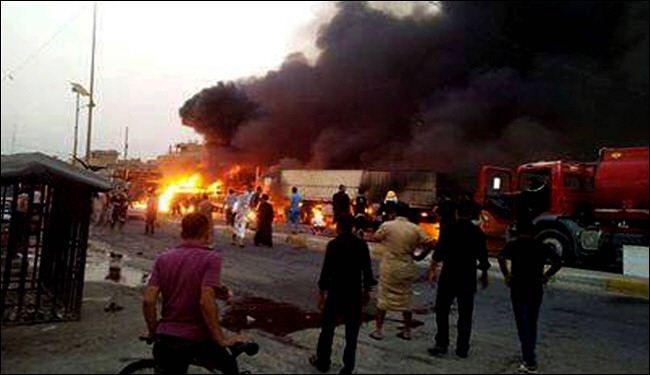 مقتل أزيد من 22 وإصابة 50 شخص في تفجرين ببغداد