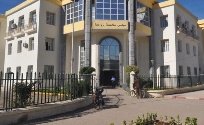 سكان بفاس يحتجون على مجلس مقاطعة زواغة بسبب إهمال حيهم