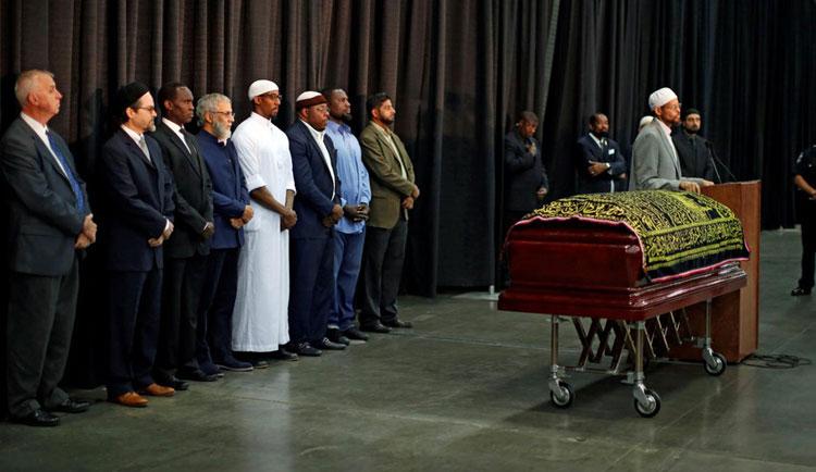 هؤلاء من حضروا تشييع جنازة الراحل محمد علي كلاي