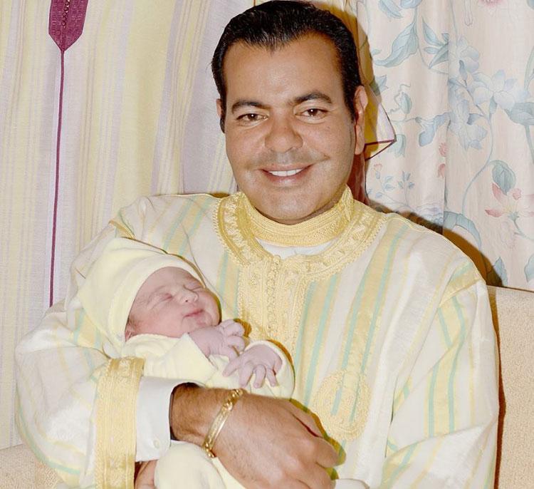 الأمير مولاي رشيد يرزق بمولود اختار له الملك محمد السادس اسم «مولاي أحمد»