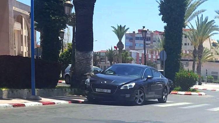 """عمدة """"البيجيدي"""" بآسفي يحطم الرقم القياسي في مخالفات السير بسيارة المصلحة"""