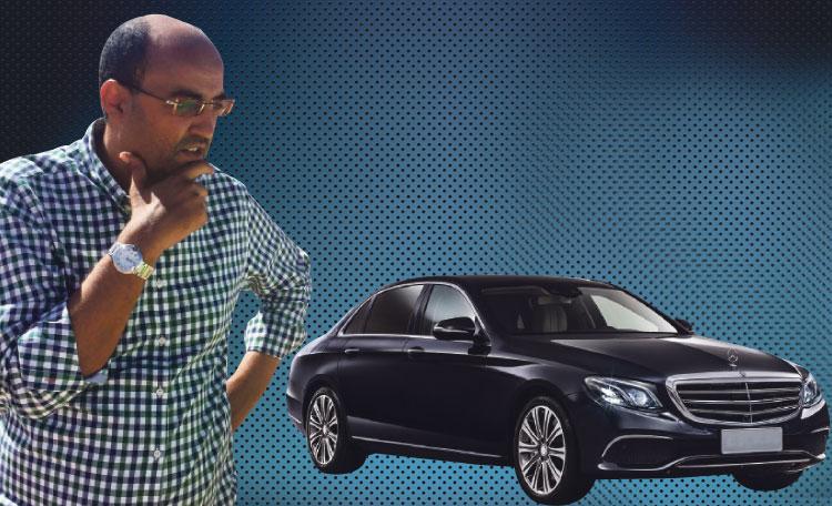 رئيس جهة العيون الساقية الحمراء اقتنى سيارة مرسيديس بـ150 مليون سنتيم من ميزانية الجهة