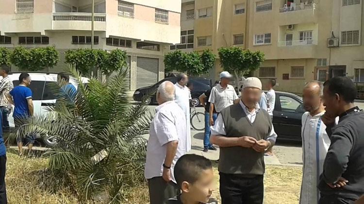 احتجاجات بإنزكان بسبب «سطو» على حديقة عمومية لتحويلها إلى عمارة سكنية