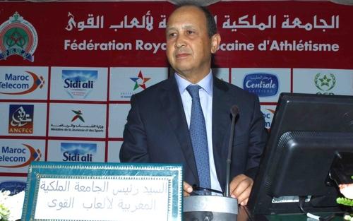 أحيزون: «حجم الوفد المغربي يؤكد أن أم الألعاب الوطنية بخير