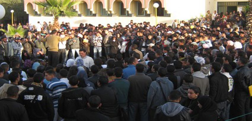 ملف محاكمة الطلبة المتهمين بحلق رأس فتاة جامعة مكناس يدخل المداولة