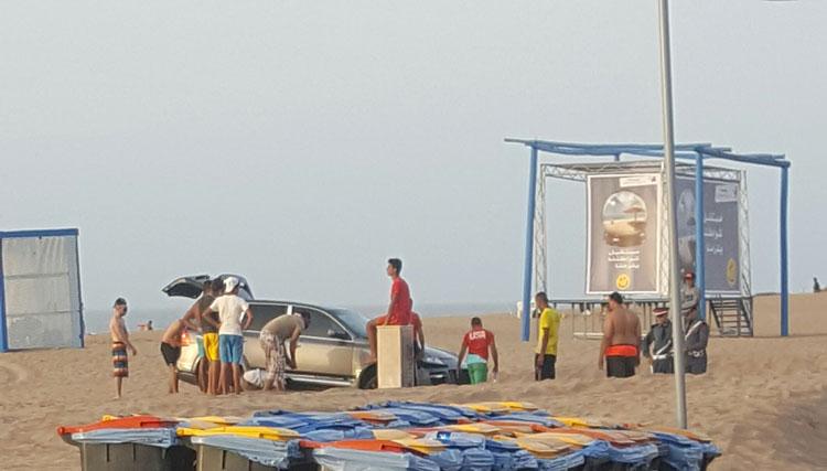 الدراجات والسيارات رباعية الدفع تهدد رواد شاطئ سيدي رحال بإقليم برشيد