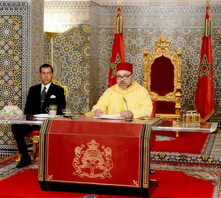 """الملك محمد السادس :"""" محاربة الفساد هي قضية الدولة والمجتمع"""""""