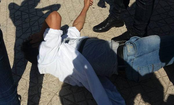 إصابات في تفريق وقفة لضحايا البرنامج الحكومي