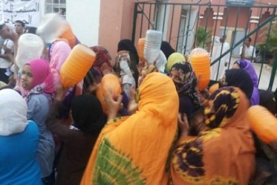 سخط شعبي على منح مهرجان العيطة 100 مليون وإقليم أسفي بدون ماء