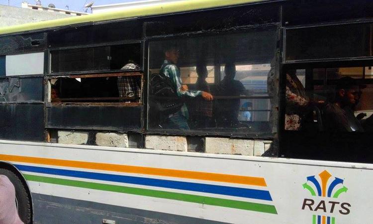 هدية مجلس «البيجيدي» لسكان آسفي.. حافلات نقل حضري مصنوعة من الحجر