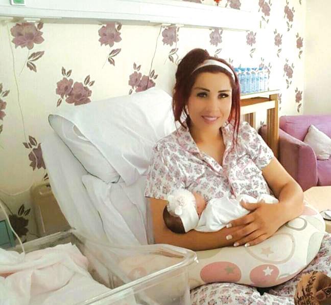 صوفيا الزهراء في بيت سعيدة شرف