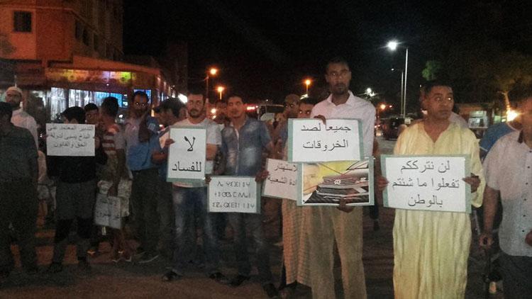 الاحتجاجات متواصلة ضد الشوباني بجهة درعة تافيلالت بسبب السيارات الفارهة