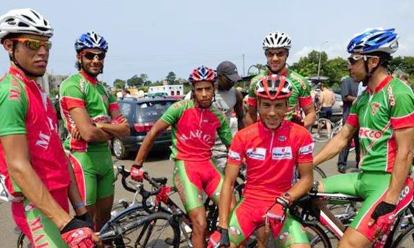 عجلة الدراجة المغربية تدور اليوم من القاعدة العسكرية لـ«كوباكابانا»