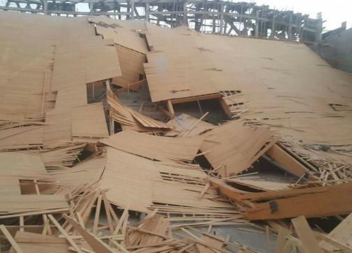 فضيحة تهز الولاية إثر انهيار سقف مشروع ملكي كلف 60 مليون درهم ضمن مخطط طنجة الكبرى