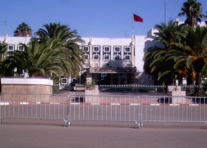 احتجاجات أمام عمالة الخميسات بسبب البناء العشوائي