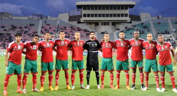 المنتخب الوطني المغربي للمحليين يفوز على نظيره الليبيري