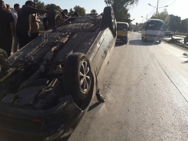 مصرع أربعة أشخاص وإصابة سبعة آخرين في حادثة سير قرب الفقيه بنصالح