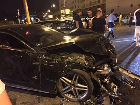 مطالب بالتحقيق في حادثة سير تسببت فيها سيارتان فارهتان بطنجة