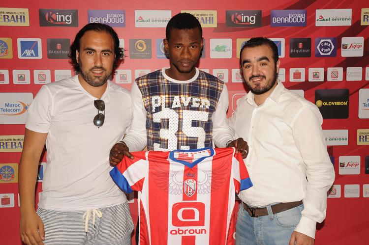المغرب التطواني يراسل الجامعة للحسم في قضية لاعبه سيديبي