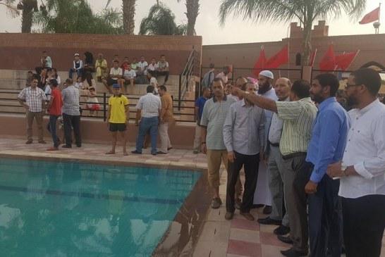 أم تقاضي عمدة مراكش بتهمة الإهمال بعد غرق ابنها بالمسبح البلدي