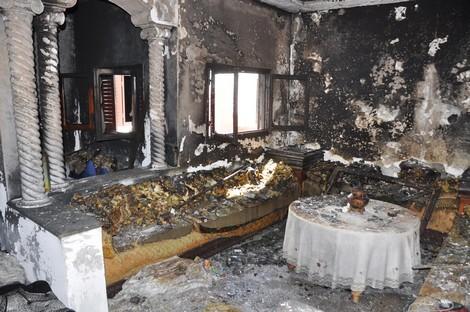 شاحن هاتف يتسبب في حريق منزل بتطوان ذهبت ضحيته سيدة وابنها