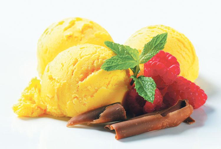 مثلجات المانغو
