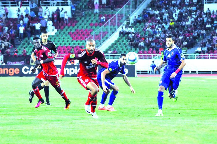الزمالك المصري حاجز الوداد إلى النهائي الإفريقي