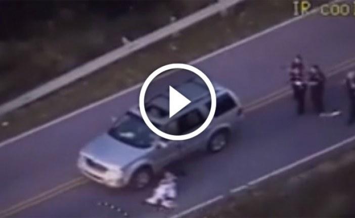 شاهد: لحظة قتل شرطية أمريكية لرجل أسود بأوكلاهوما