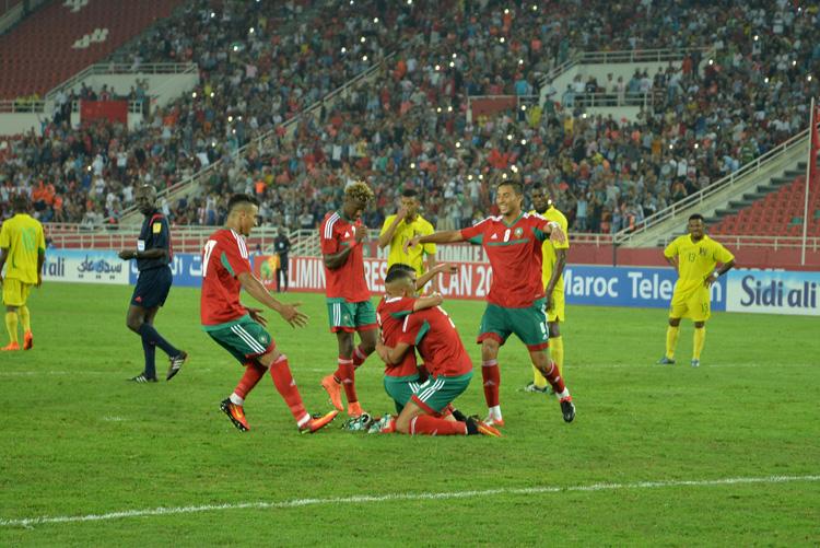 المنتخب المغربي يفوز على الأردن