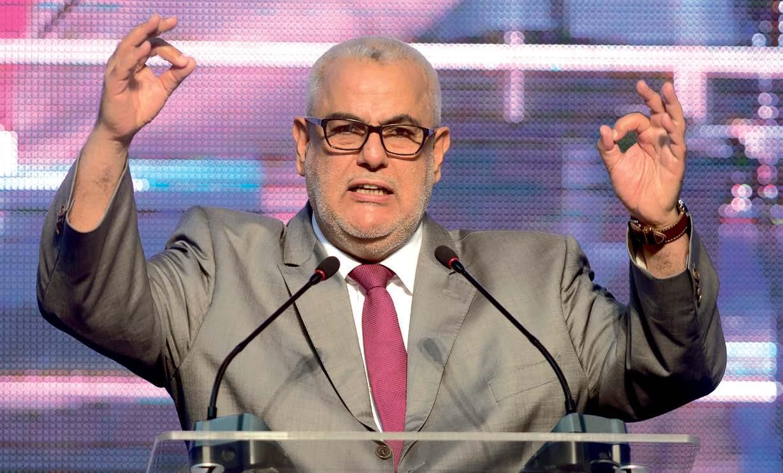 بنكيران يوجه أعضاء حزبه لعدم المشاركة في احتجاجات ضد مقتل بائع السمك بالحسيمة