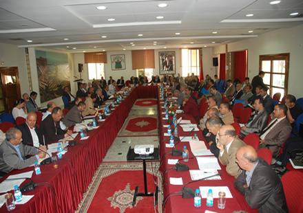 مجلس جهة مراكش – أسفي  يهدف إلى تقوية البنية الطرقية القروية بالجهة