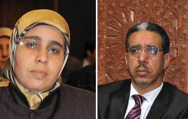سلاليون يتهمون رباح وأخت وزير العدل بتحريضهم ضد قوات الدرك بالغرب