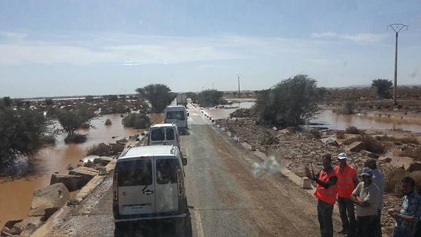 انطلاق إحصاء المتضررين بفيضانات الصحراء ومخاوف من التلاعب بالتعويضات