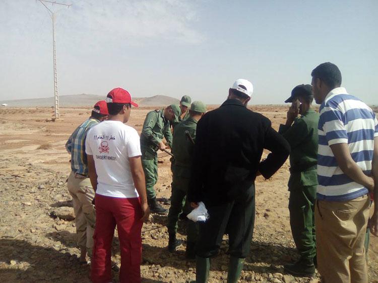 الفيضانات تجرف ألغاما وقنابل زرعتها «البوليساريو» والجزائر بالصحراء