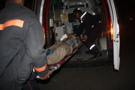 إصابة 17 شخصا في حادث انقلاب حافلة ضواحي الناظور