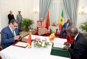 الملك يترأس حفل التوقيع على اتفاقيتين في المجال الفلاحي بين المغرب والسنغال