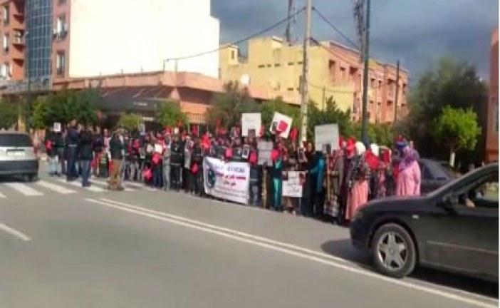 مواطنون ببني ملال ينظمون وقفة ضد «التشرميل» ويتضامنون مع رجال الأمن