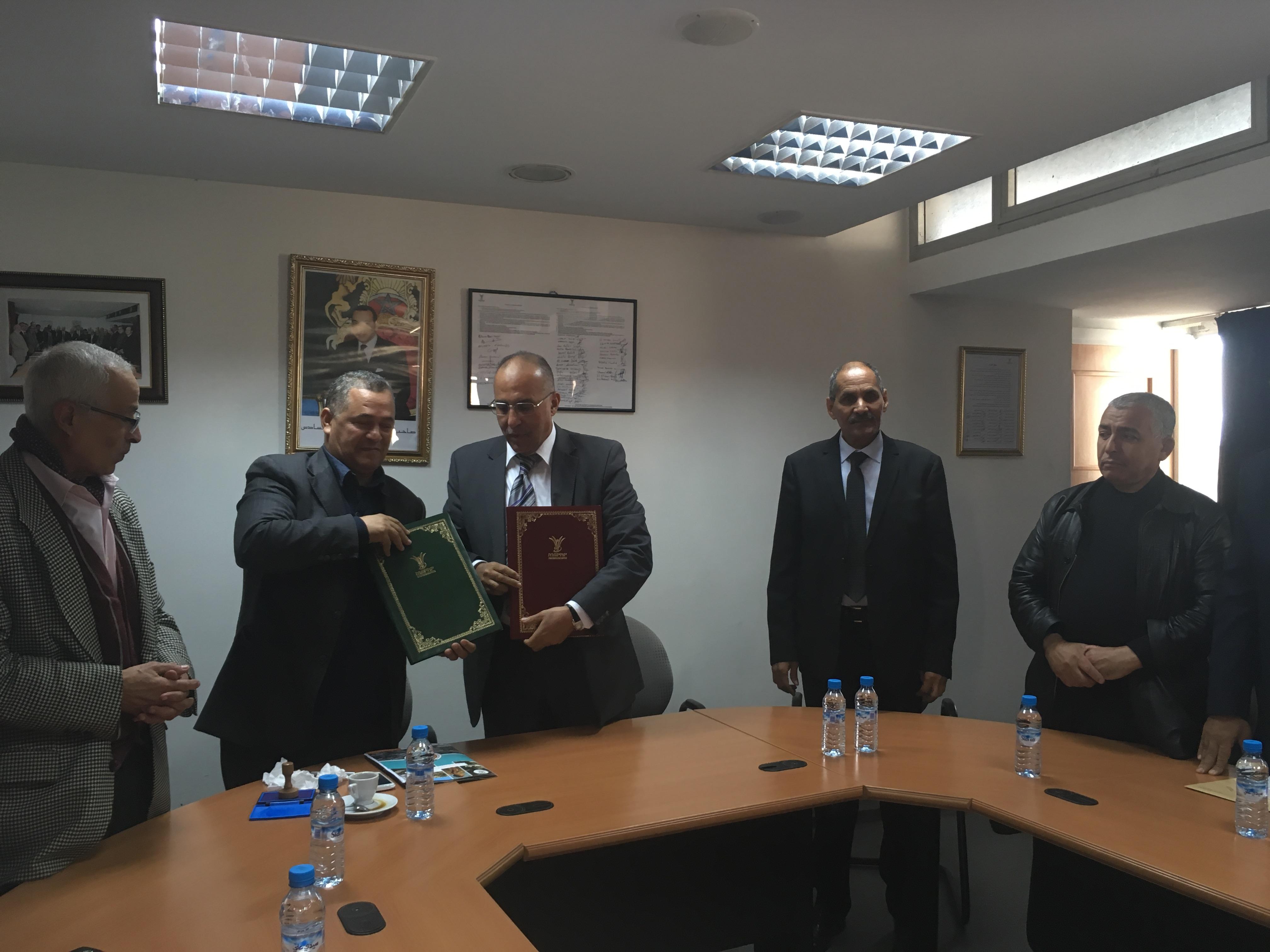 التعاضدية العامة والاقتصاد الاجتماعي والتضامني المغربي يتكتلان ويوقعان اتفاقية تعاون