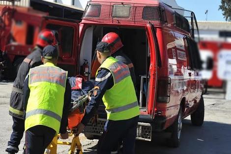 اصطدام بين سيارة تابعة للداخلية وشاحنة تابعة للجيش بفاس والضحية باشا وزوجته