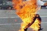 إنقاذ معطل من محاولة إحراق جسده أمام عمالة سيدي سليمان