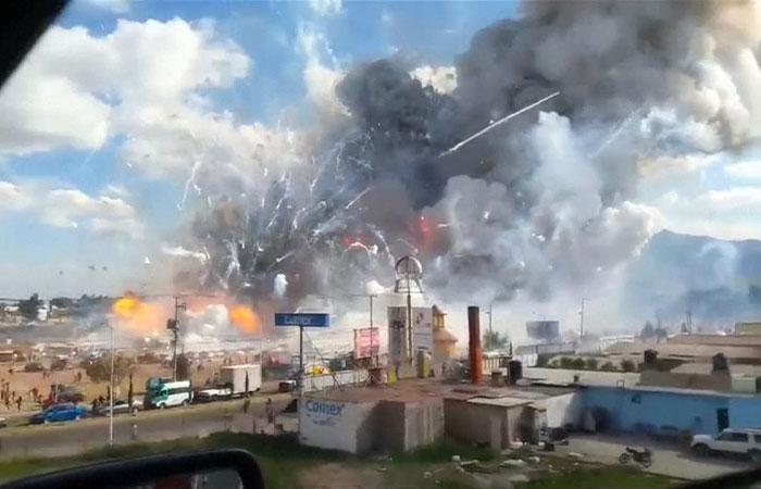 """ارتفاع حصيلة ضحايا """"انفجار المكسيك"""" إلى 29 قتيلا"""