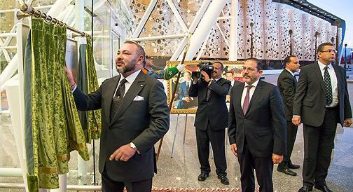 الملك يدشن المحطة الجديدة لمطار مراكش