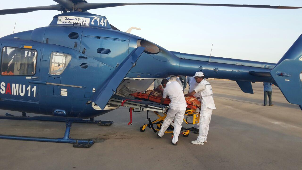 مروحية الإسعاف الطبي تتدخل لإنقاذ طفل ظل فاقدا للوعي لـ7 ساعات بإقليم أزيلال