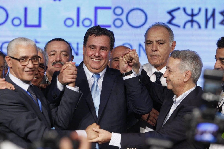 أخنوش وساجد يدعوان إلى تسريع انتخاب رئيس مجلس النواب